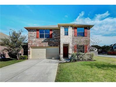 Round Rock Single Family Home For Sale: 2531 St James Pl
