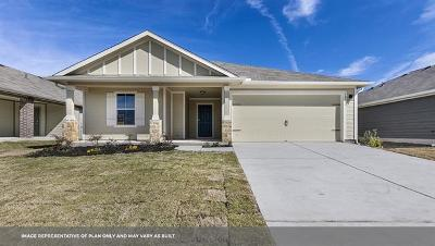 Hutto Single Family Home For Sale: 105 San Bernard Trl