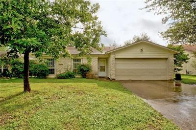 Travis County Single Family Home Pending - Taking Backups: 6403 Earlyway Dr