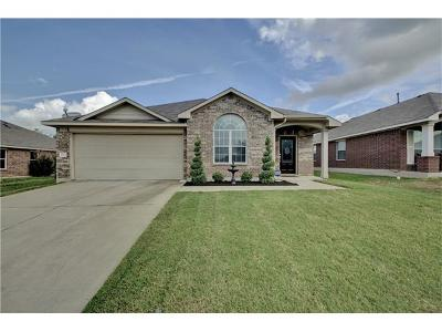 Pflugerville Single Family Home For Sale: 2912 Hawks Swoop Trl