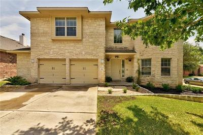 Cedar Park Single Family Home For Sale: 206 Wigeon Cv