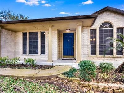 Travis County, Williamson County Single Family Home Pending - Taking Backups: 8121 Avella Dr