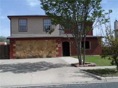 Killeen Single Family Home For Sale: 1607 Waterford Dr
