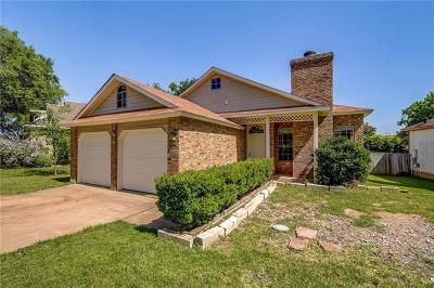 Austin Single Family Home For Sale: 2128 Cervin Blvd