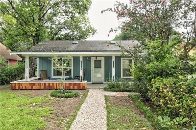 Travis County Single Family Home Pending - Taking Backups: 1110 Fiesta St