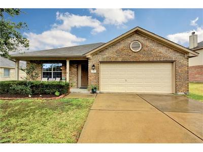 Hutto Single Family Home For Sale: 219 Hanstrom Dr