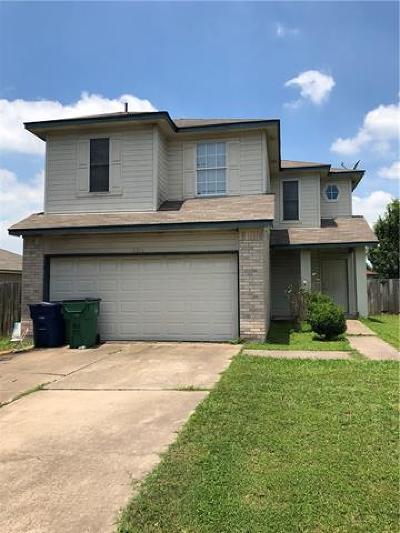 Del Valle Single Family Home For Sale: 7212 Black Panda Trl
