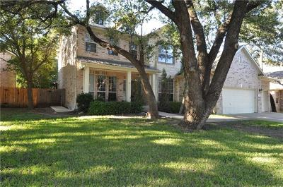 Round Rock Single Family Home Pending - Taking Backups: 3304 Texana Ct