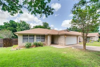 Round Rock Single Family Home Pending - Taking Backups: 430 Arrow Head