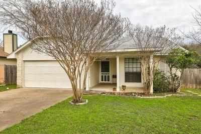 Cedar Park Single Family Home For Sale: 608 Penny Ln