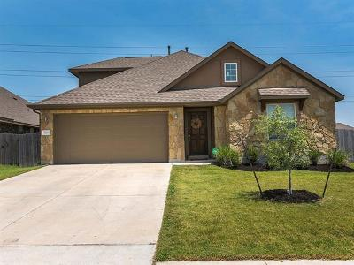 Round Rock Single Family Home For Sale: 5920 Angelo St