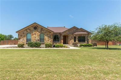 Salado Single Family Home For Sale: 9870 Brewer Rd