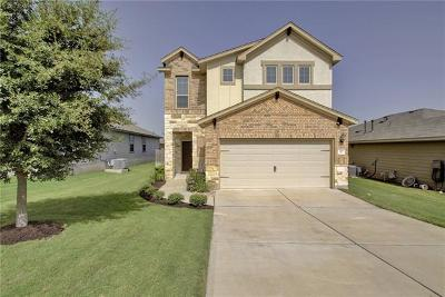 Hutto Single Family Home For Sale: 215 Fistral Dr