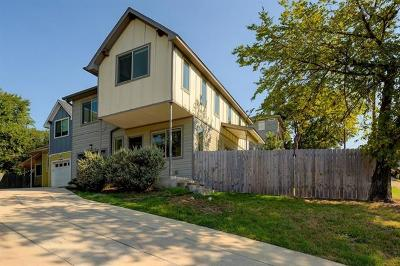 Austin Single Family Home For Sale: 1158 Ridgeway Dr #A