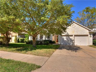Round Rock Single Family Home For Sale: 1906 Forest Meadow Cv