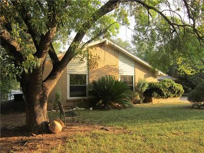 Lago Vista Single Family Home For Sale: 3006 Patriot Dr