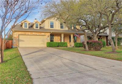 Cedar Park Single Family Home For Sale: 2403 Mancuso Bnd