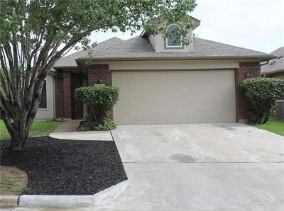 Pflugerville Rental For Rent: 1604 Black Willow St