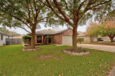 Austin Single Family Home Pending - Taking Backups: 9018 Whiteworth Loop