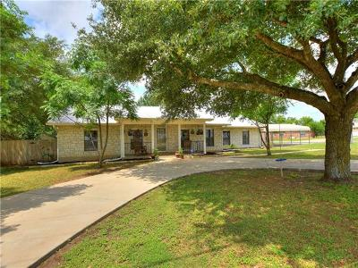 Georgetown Single Family Home For Sale: 200 White Eagle Pass