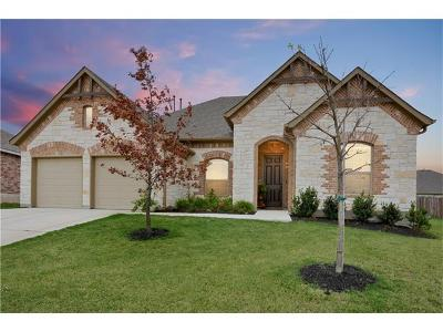 Round Rock Single Family Home For Sale: 7027 Donato Pl