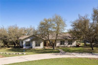 Dripping Springs Single Family Home For Sale: 211 Hilltop Dr
