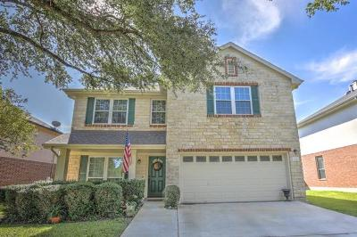 Round Rock Single Family Home For Sale: 1900 Balsam Way