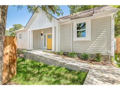 Austin Single Family Home For Sale: 1307 Fort Branch Blvd #B