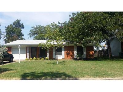 Austin Single Family Home For Sale: 1802 Duke Ave