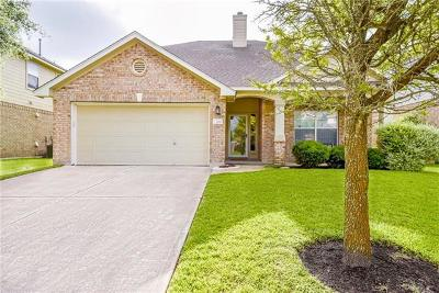 Round Rock Single Family Home For Sale: 709 Arrowood Pl