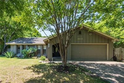 Austin Single Family Home Pending - Taking Backups: 9605 Chukar Cir