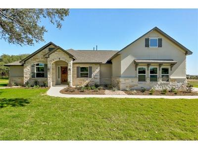 Leander Single Family Home For Sale: 2560 Council Springs Pass