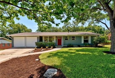 Austin Single Family Home For Sale: 11907 North Oaks Dr