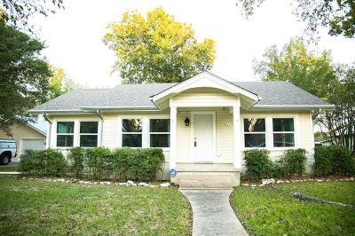 Lockhart Single Family Home For Sale: 322 S Frio St