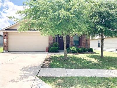 Buda Single Family Home For Sale: 315 Feathergrass Dr