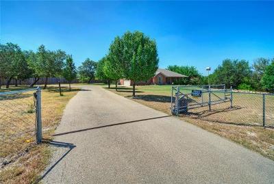 Lampasas County Single Family Home Pending - Taking Backups: 568 County Road 3340