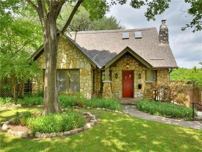 Austin Single Family Home Pending - Taking Backups: 1810 Travis Heights Blvd