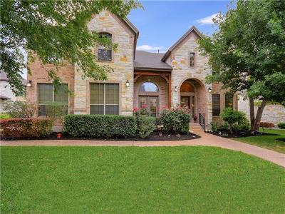 Round Rock Single Family Home For Sale: 2836 Collingwood Dr