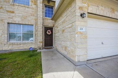 Hutto Single Family Home For Sale: 201 Saul St