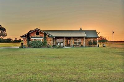 Hutto Single Family Home For Sale: 1854 County Road 134