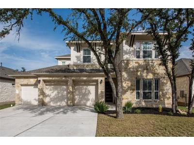 Cedar Park Single Family Home For Sale: 510 Dry Gulch Bnd
