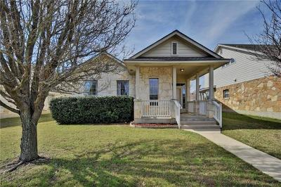 Cedar Park Single Family Home For Sale: 1504 Wild Basin Ln