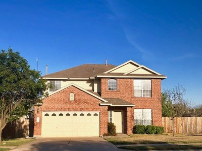Cedar Park Single Family Home For Sale: 2200 Wheaton Trl
