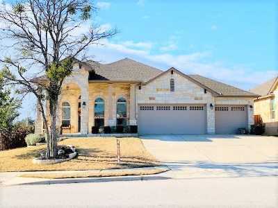 Leander Single Family Home For Sale: 2329 Republic Trails Blvd