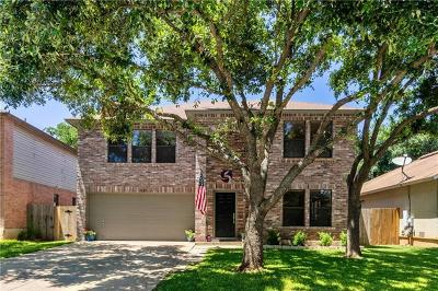 Cedar Park Single Family Home For Sale: 2009 Marysol Trl