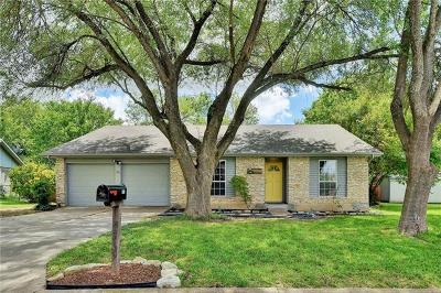 Round Rock Single Family Home For Sale: 903 Ridgeline Dr
