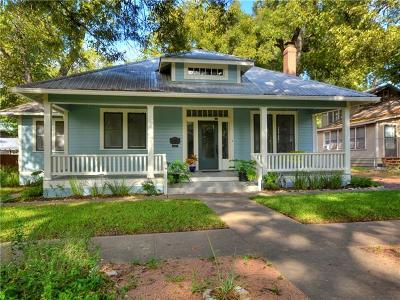 Austin Single Family Home Pending - Taking Backups: 4102 Avenue D