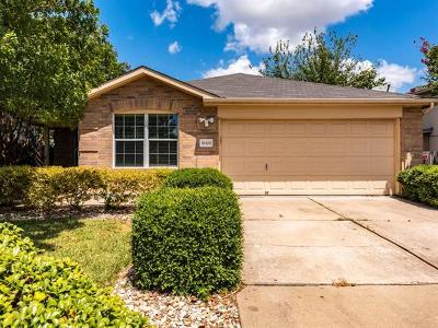 Manor Single Family Home For Sale