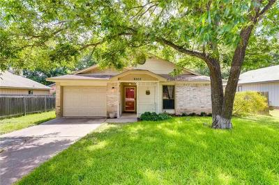 Austin Single Family Home For Sale: 8503 Ruddington Dr