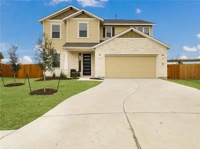 Hutto Single Family Home For Sale: 1013 Guernsey Cv